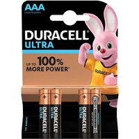 Duracell Ultra Power AAA Batteries   4 Pack