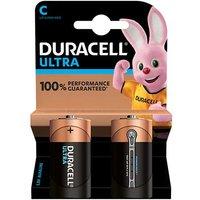 Duracell Ultra Power C Batteries   2 Pack