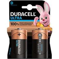 Duracell Ultra Power D Batteries   2 Pack