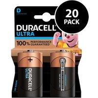 Duracell Ultra Power D Batteries   20 Pack