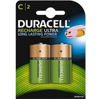 Duracell Recharge Ultra C Batteries   Rechargeable   2 Pack