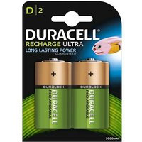 Duracell Recharge Ultra D Batteries   Rechargeable   2 Pack