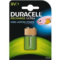 Duracell Recharge Ultra 9V Battery   Rechargeable