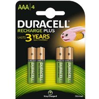 Duracell Recharge Plus AAA Batteries   Rechargeable   4 Pack