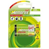 Memorex 9V Battery   Rechargeable