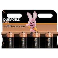 Duracell Plus Power C Batteries   4 Pack