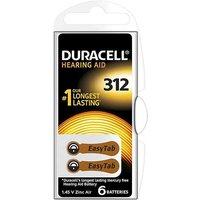 Duracell Easytab Hearing Aid ZA312 Batteries   2 Pack
