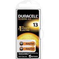 Duracell Easytab Hearing Aid ZA13 Batteries   2 Pack
