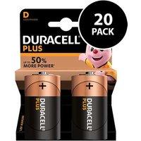 Duracell Plus Power D Batteries   20 Pack