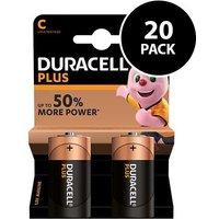 Duracell Plus Power C Batteries   20 Pack