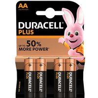 Duracell Plus Power AA Batteries   4 Pack