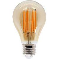 11W E27 GLS Filament LED   970lm   2200K   Amber   Non Dimmable