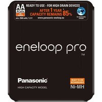 Panasonic Eneloop Pro AAA Batteries   Rechargeable   4 Pack