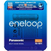 Panasonic Eneloop AAA Batteries   Rechargeable   4 Pack