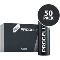 Duracell Industrial Procell   AA Batteries   50 Pack