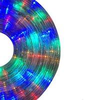 PowerMaster 8W LED Linkable Rope Light   10m Length   RGB   Splashproof