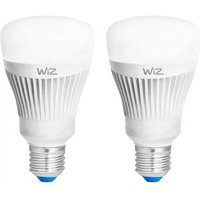 WiZ 11 5W E27 GLS Smart LED   Colours   2 Pack   Starter Pack