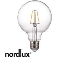 Nordlux 5W E27 Globe Filament Bulb   Warm White   Dimmable