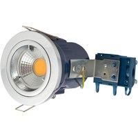 Electralite GU10 Spotlight Fitting   IP20   Chrome