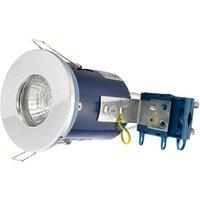 Electralite GU10 Spotlight Fitting   IP65   White