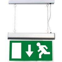 4W Suspended LED Emergency Exit Sign   Maintained