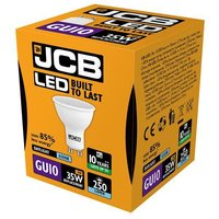 JCB LED GU10 3W Spotlight   Daylight