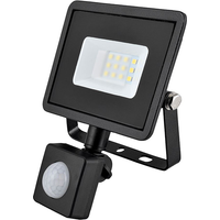 Eveready 10W SMD LED Flood Light   IP65   4000K   PIR Sensor