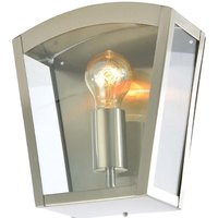 Zinc Outdoor Wall Light Fixture   Stainless Steel