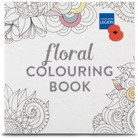 Poppy Floral Colouring Book