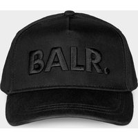 Give casual looks a hit of contemporary flair with the balr. cap. it features black tonal 3d embroidery and a ...