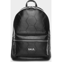 BALR. Hexagon AOP Embossed Leather Backpack