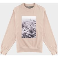 Photoprint Relaxed Fit Crewneck  Pepper