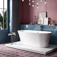 Charlotte Edwards Luna 1700mm Freestanding Bath