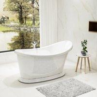 Charlotte Edwards Ersa Acrylic Freestanding Double Ended Bath | Painted Finish Option - 1350x750mm