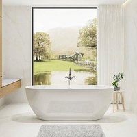 Charlotte Edwards Belgravia Acrylic Freestanding Double Ended Bath | Painted Finish Option - 1500 x 730mm
