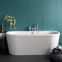 Britton Cleargreen Saturn Freestanding Bath