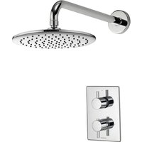 Aqualisa Dream DCV Mixer Shower With Wall Fixed Drencher Head