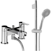 Abode Debut Deck Mounted Deluxe Bath Shower Mixer