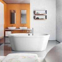 Britton Cleargreen Nouveau Freestanding Bath