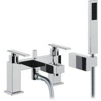 Adobe Marino Deck Mounted Bath Shower Mixer with Shower Handset