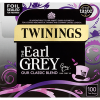Twinings The Earl Grey 100 Tea Bags 250g