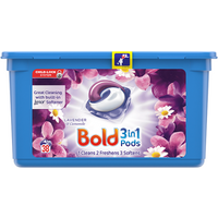 Bold 3in1 Pods Lavender & Camomile Washing Liquid Capsules 38 Washes