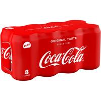 Coca-Cola Original Taste 8 x 330ml Cans