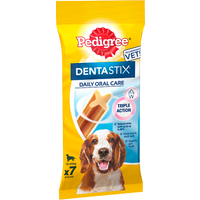Pedigree Dentastix Medium Dog treats 7 Sticks 180g