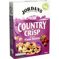 Jordans Country Crisp with Juicy Flame Raisins 500g
