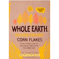Whole Earth Golden Organic Corn Flakes 375g