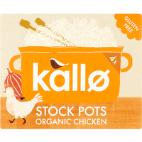 Kallo Organic Chicken Stock Pots 96g