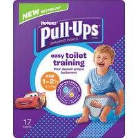 Huggies Pull Ups Day Time Potty Training Pants Boys 1-2.5 Years 17 Pants