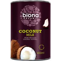 Biona Organic Coconut Milk 400ml