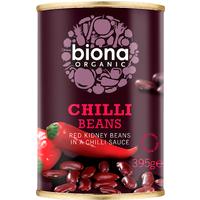 Biona Organic Chilli Beans 395g